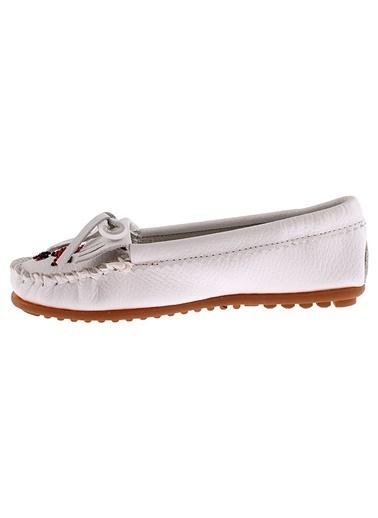 Mınnetonka Ayakkabı Beyaz